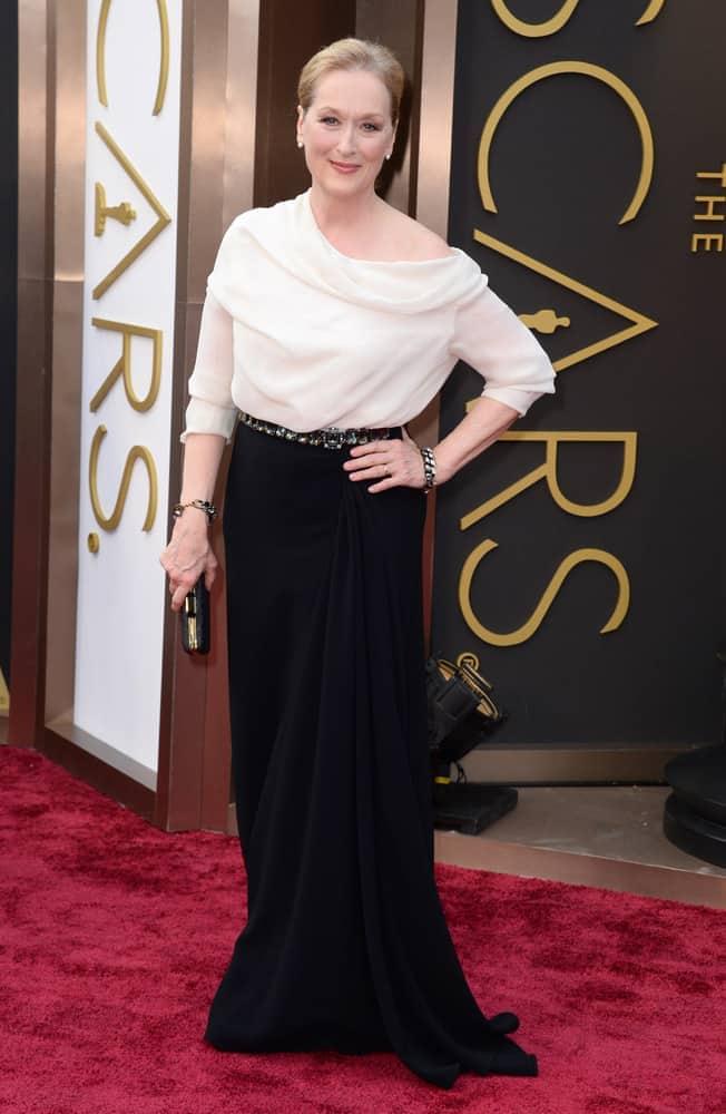 Meryl Streep at the 2014 Oscars