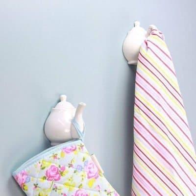 porcelain wall hook