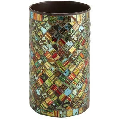mosaic utensil holder