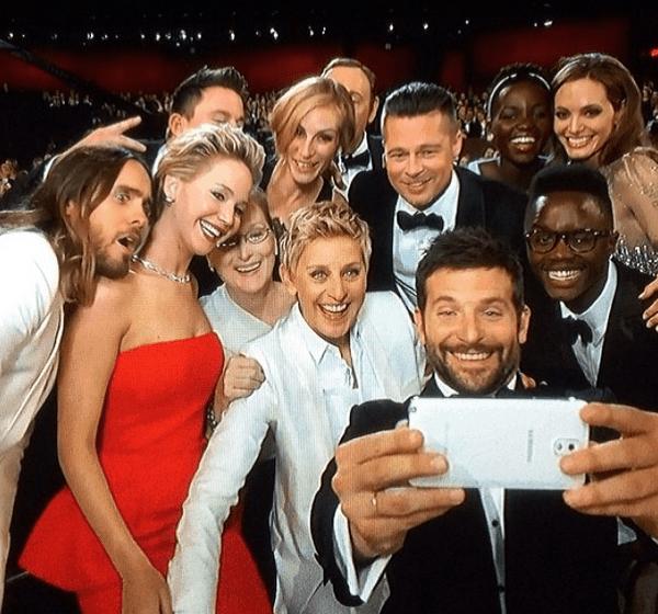 2014 oscars selfie