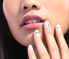 Spring 2014 Nail Trends: Simple Patterns