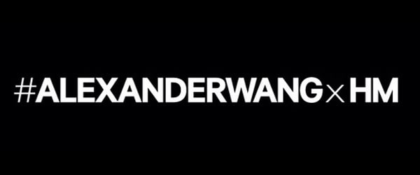 Happy Monday News: Alexander Wang is New H&M Designer Collaboration