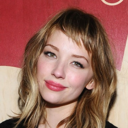 Haley Bennett with baby bangs