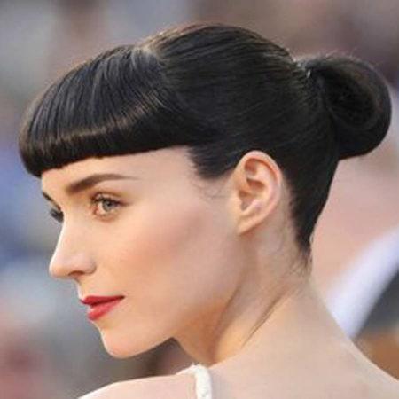 Rooney Mara bangs