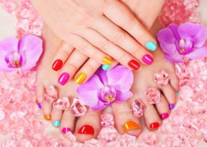Colorful Pedicure