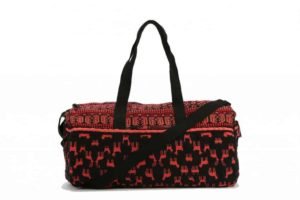 Ecote Mardou Embroidered Weekender Bag