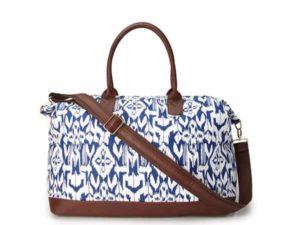 Globetrotter Ikat Duffle Bag