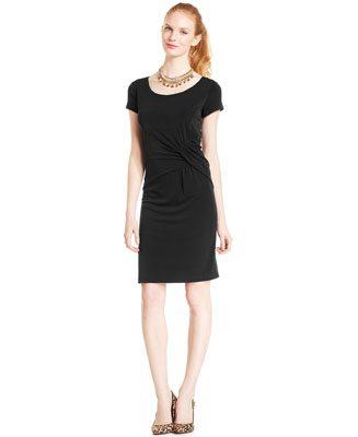 Elementz Side-Ruched B-Slim Dress