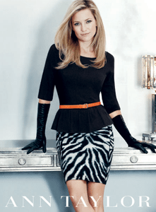And She's Back: Kate Hudson Returns to Headline Ann Taylor's Holiday 2012 Ad Campaign