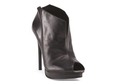 Kenneth Cole Leather Platform Booties