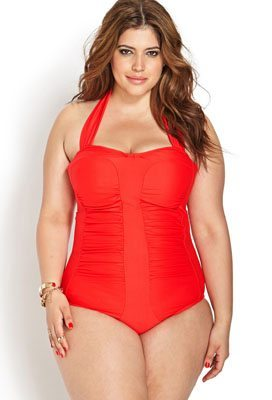 Retro Halter Swimsuit