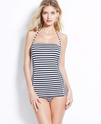 Retro Stripe Swimdress