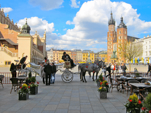 Rynek Glowny by Courtney Lochner