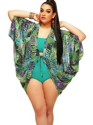 St. Johns Cocoon Swim Coverup Caftan