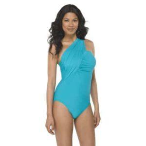 Women's One-Shoulder 1-Piece Swimsuit