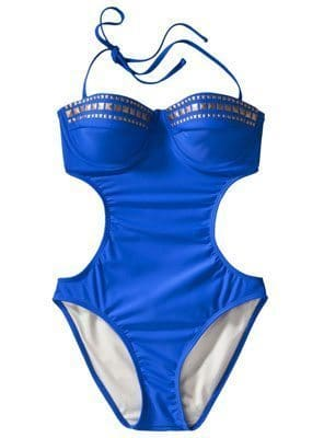 Xhilaration Junior's Studded Monokini