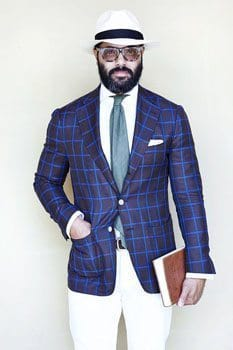 Angel Bespoke male fashion blogger
