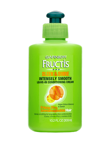 Garnier Fructis Sleek & Shine Intensely Smooth Leave In Conditioning Cream