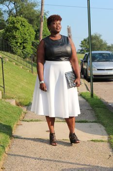 Grown and Curvy Woman style blog