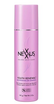 Nexxus Youth Renewal Rejuvenating Dry Shampoo, 5 Ounce