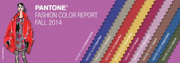 Fall 2014 Pantone Color Guide