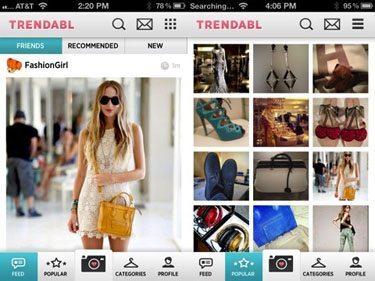 Trendabl app