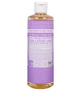 Dr. Bronner's Magic Soap Lavender Castile Liquid Soap - 16 oz, $10.99