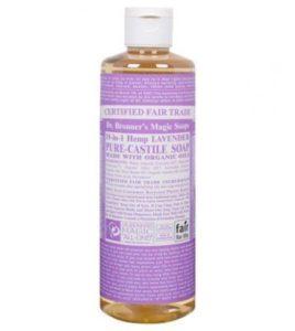 Dr. Bronner's Magic SoapLavender Castile Liquid Soap - 16oz,$10.99