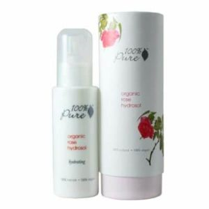 Organic Rose Hydrosol Facial Mist, $15