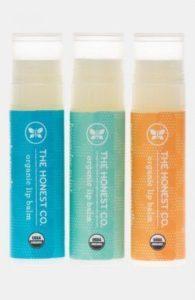 The Honest Company Organic Lip Balm Trio, $8.95