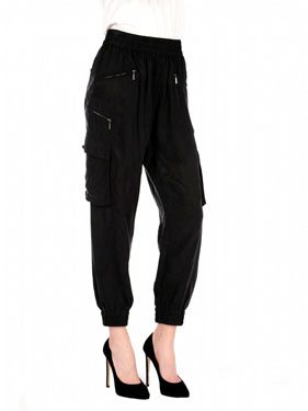 Faux Silk Trouser