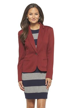 Women's Tailored Ponte Blazer