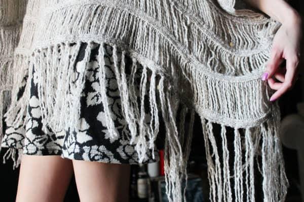 Fringe Fashion Detail