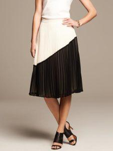 pleated-colorblock-skirt