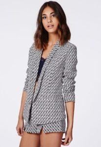 renna-retro-print-tailored-blazer