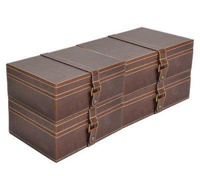 Leather Lidded Boxset