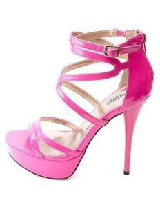neon-strappy-platform-heels