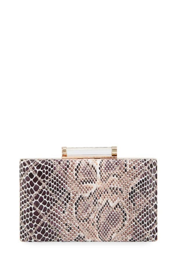 Embellished box bag