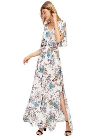 Floral Caftan Dress