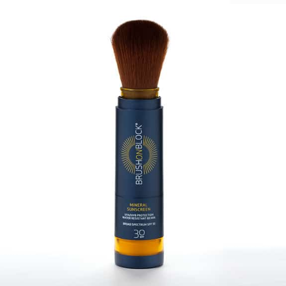 brush on sunscreen product