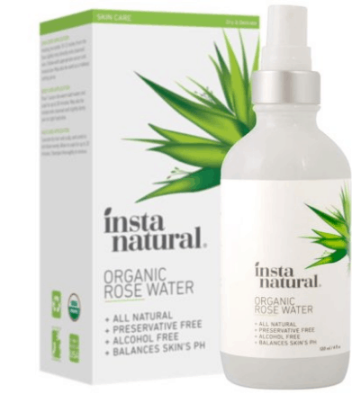 All natural rose water spray