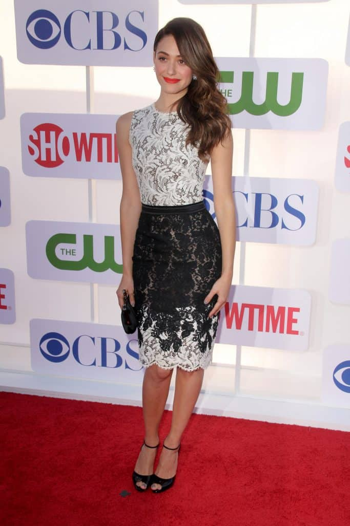 07/29/2012 - Emmy Rossum - 2012 TCA Summer Tour - CBS, Showtime and The CW Party - Arrivals - 9900 Wilshire Boulevard - Beverly Hills, CA, USA - Keywords: Orientation: Portrait Face Count: 1 - False - Photo Credit: Andrew Evans / PR Photos - Contact (1-866-551-7827) - Portrait Face Count: 1