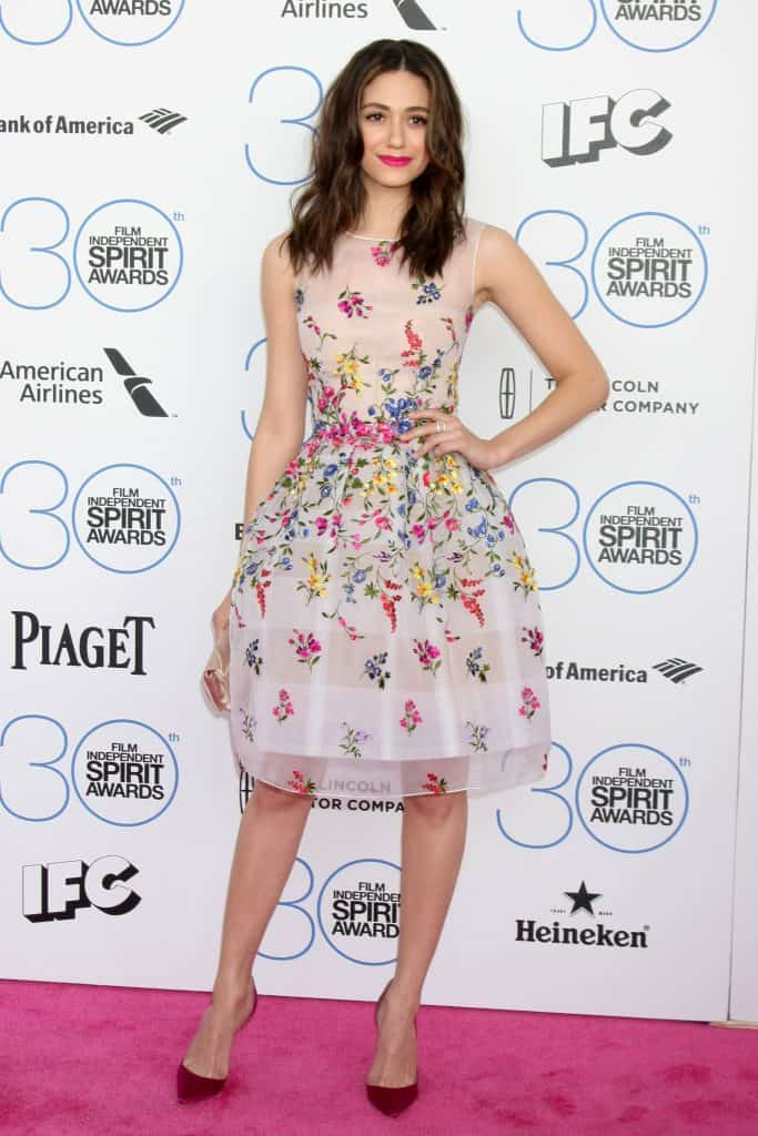 Emmy Rossum at the 30th Film Independent Spirit Awards, Santa Monica, CA 02-21-15 David Edwards/DailyCeleb.com 818-249-4998
