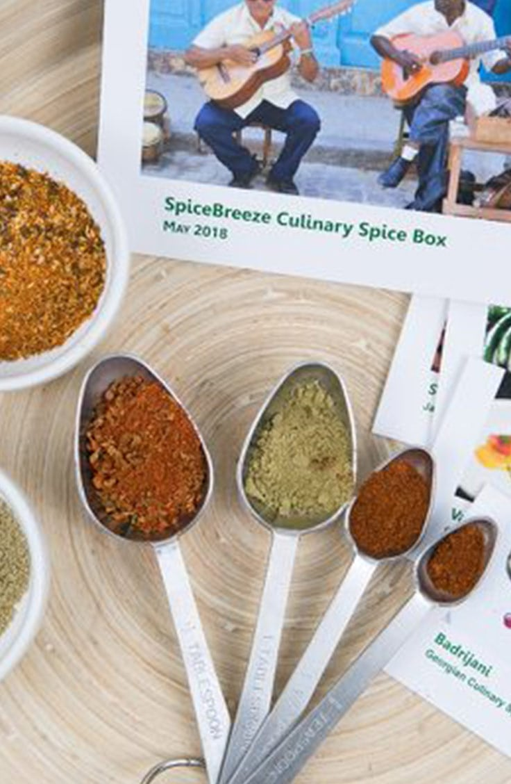 Spice Breeze gift Subscription Box