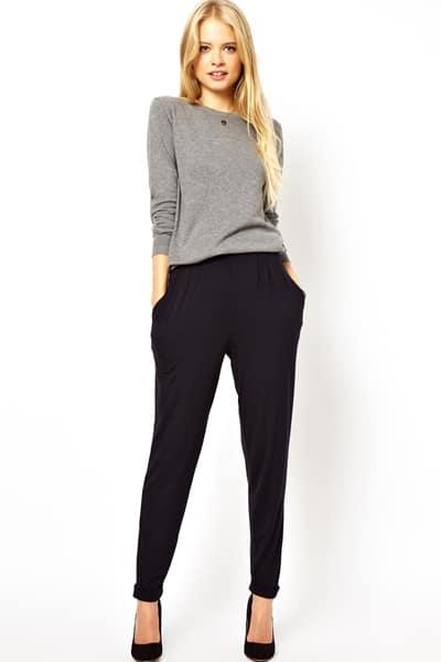 ASOS tapered trousers, $33, asos.com