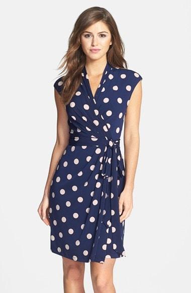Eliza J Wrap Dress, $119, Nordstrom.com