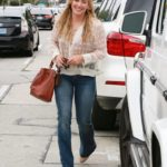Hilary Duff Sighted at Cafe Zinque in West Hollywood on July 21, 2015