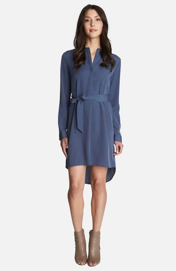 Long Sleeve Shirt Dress, $218, Nordstrom
