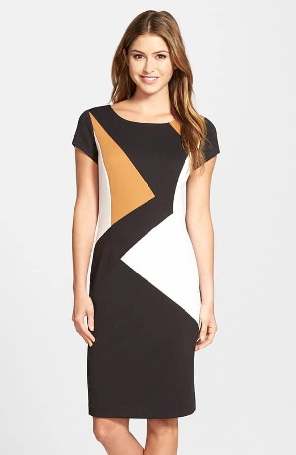 Colorblock Ponte Sheath Dress, $118, Nordstrom