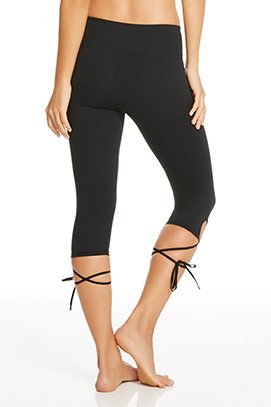 Workout capri pants